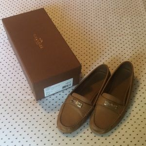 Coach Fredrica Pebble Leather Loafer